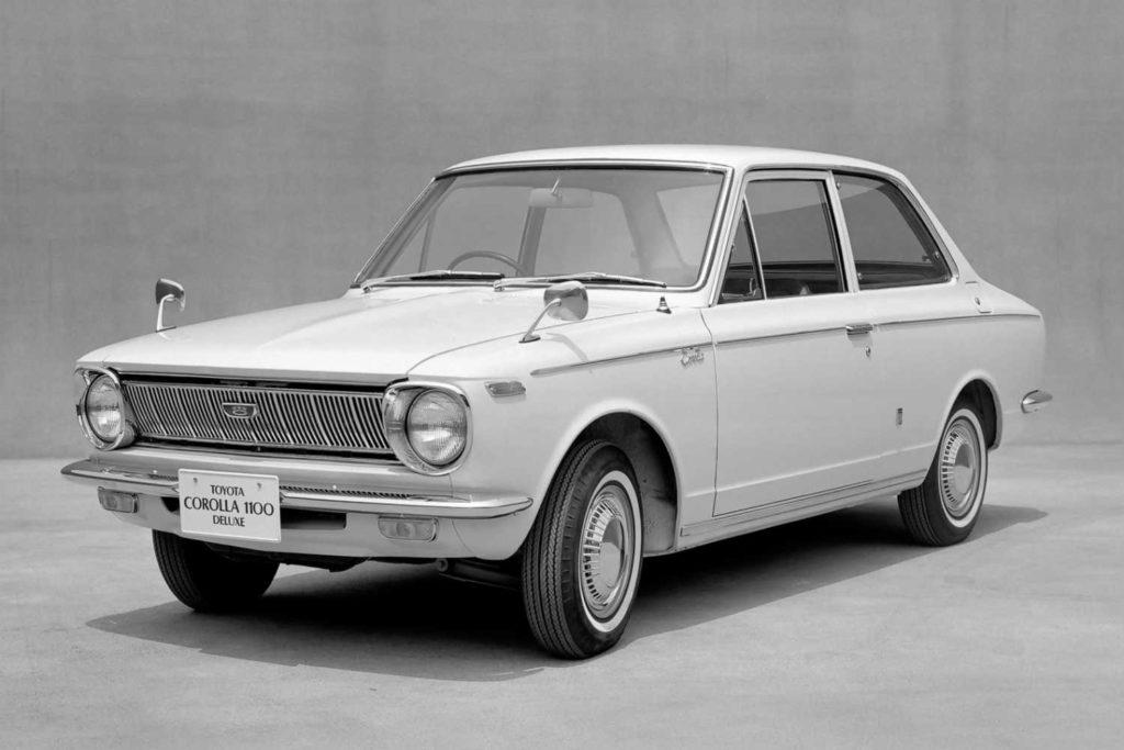 Historia Toyota Corolla gen 1