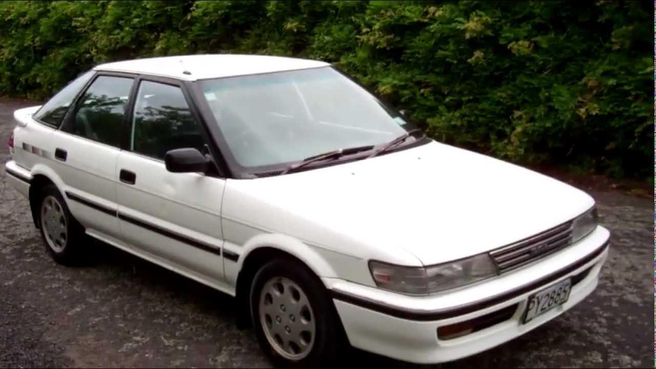 Historia del Toyota corolla gen 7