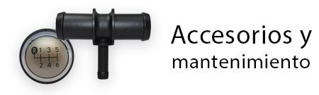 producto accesorios y mantenimiento