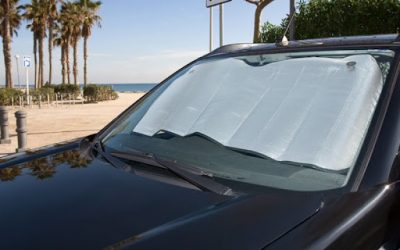 ¿Poner un parasol en el coche realmente funciona?